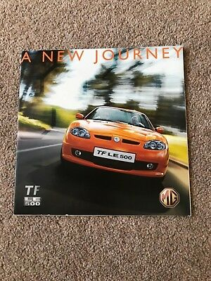 MG TF LE 500 - A New Journey - 2007 brochure