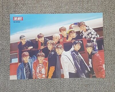 K-POP THE BOYZ 1st Single Album [THE SPHERE] B Ver. OFFICIAL POSTER -NEW-
