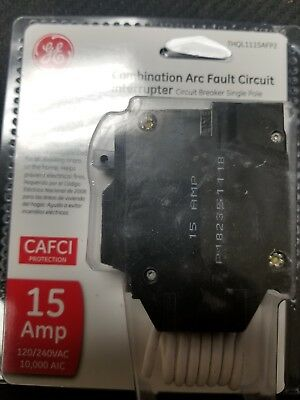 Ge Thql1115Afp2 15A Arc-Fault Circuit Breaker New In Package