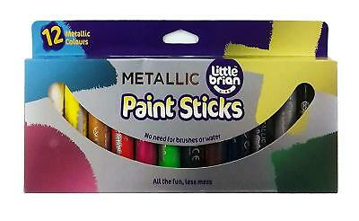 Little Brian Metallic Colours Paint Sticks