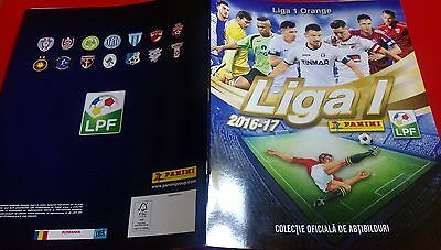 PANINI Foot Liga 1 Orange 2016 2017 Roumainie 1 nouvel Album vierge