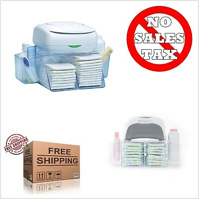 Dresser Top Diaper Depot Three In One Changing Station Sits Your Warmer