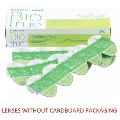 Biotrue ONEday 1x30pk lenses (WITHOUT CARDBOARD PACKAGING)