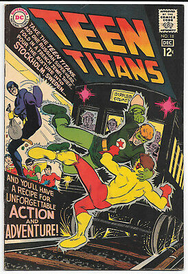 DC Silver Age Teen Titans 18 F/VF 7.0 Nick Cardy Cover 1st Appearance Starfire