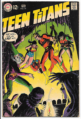 DC Silver Age Teen Titans 19 F/VF 7.0 Nick Cardy Cover Speedy Joins Team