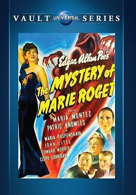 The Mystery Of Marie Roget DVD 1942 Patric Knowles Maria Montez, Edgar Allen Poe