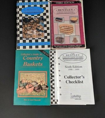Basket Collector Guides : 3rd & 6th Bentley Collection Guides + Country Baskets