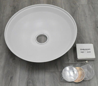 "PRE-OWNED Elinchrom Softlite Reflector (Beauty Dish) 27"", White. #EL26169 MINT"