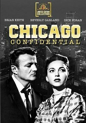 Chicago Confidential DVD Brian Keith,Beverly Garland,Dick Foran ,Sidney Salkow