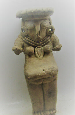 Scarce Ancient Neo-Hittite Terracotta Diety. Tabal. Very Fine State