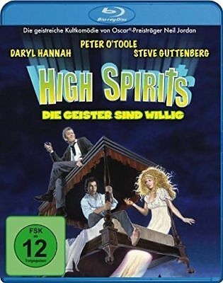 High Spirits - Peter O'Toole - Daryl Hannah - Blu Ray - New & Sealed - Region B