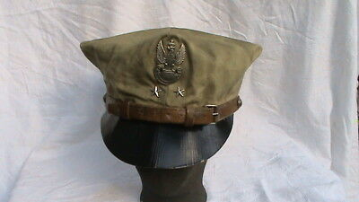 Old Polish Haller Army Military High Rank Cap Rogatywka - Bargain !!!