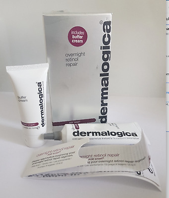 Dermalogica overnight retinol repair 30ml/15ml(buffer cream)