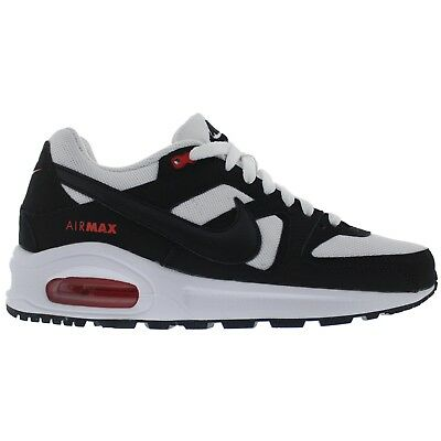 b3a4fea58caef Nike Air Max Command Flex (GS) 844346-100 White Black Orange Youth Boy s