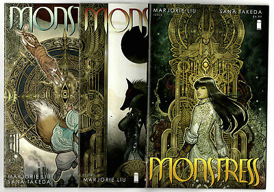 Monstress #1-3 (2015) Image VF/NM to NM- Marjorie Liu Sana Takeda