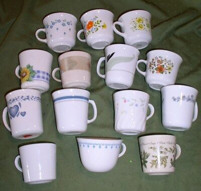 Corning Corelle Cups & Mugs - 50+ Patterns & Options - Buy 2 or more & Save 20%