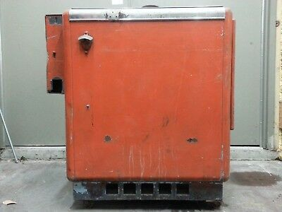 Vintage Slider Style Hires? Soda Vending Machine Flip Top / Chest / Cooler 1950s