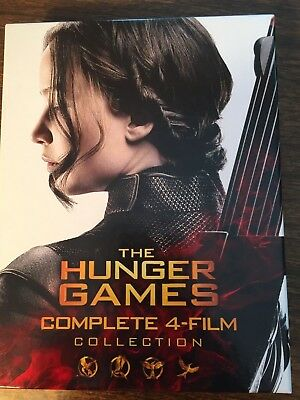 The Hunger Games: Complete 4 Film Collection DVD