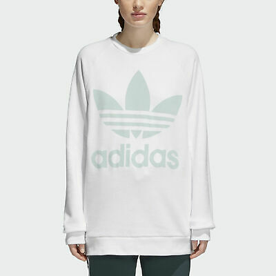 adidas Originals Womens Trefoil Pastel Camo Floral Long Hoody Multi