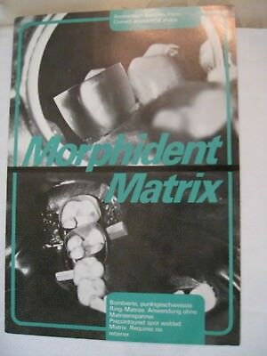 Morphident Dental Precontoured Matrix Bands