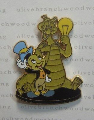 Disney Imagination Gala Event JIMINY CRICKET & FIGMENT Trade Board Exclusive Pin