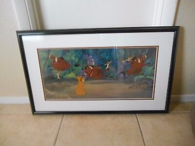 Disney Framed Limited Edition Sericel