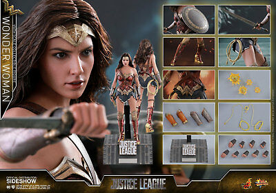 Hot Toys Wonder Woman Justice League 1/6 Scale Figure REGULAR Version IN STOCK