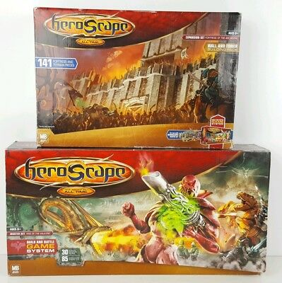 Heroscape Expansion Set Fortress of the Archkyrie Rise Valkyrie Lot Master Set