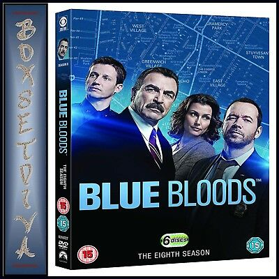 Blue Bloods - Complete Season 8 - Eighth Season  *brand New Dvd