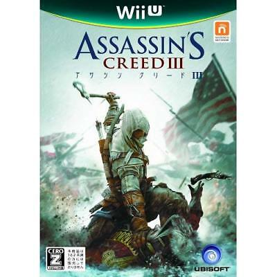 "Used Wii U Assassin's Creed III CERO rating ""Z"" Japan Import"