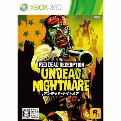 Used Xbox360 Red Dead Redemption: Undead Nightmare Japan Import