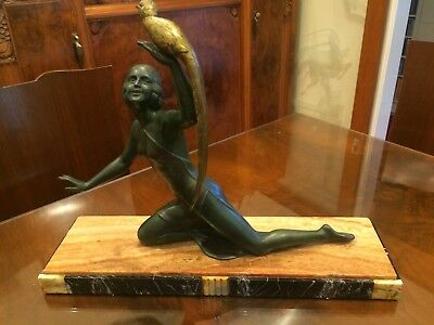 French Art Deco sculpture by Salvatore Melani C1920
