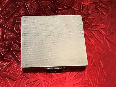 Sterling Silver Box - Powder Compact  - Asprey & Co - Birmingham - 1950