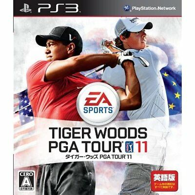 Used PS3 Tiger Woods PGA Tour 11 Japan Import