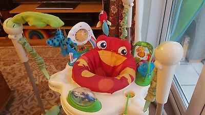 Fisher Price Rainforest Jumperoo Bouncer Activity Centre - Good Condition