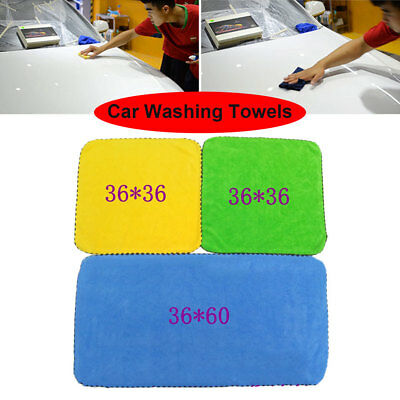 071E Home Car Wash Absorbent Towel Wiping Rag Waxing Plating Cleaning Cloth Wash