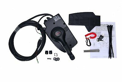 Side Boat Motor Outboard 8Pin Mount Remote Control Box Cable For Mercury 15 ft