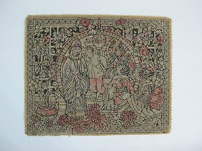 Vintage Japanese Oriental Asian Table Cloth Tapestry