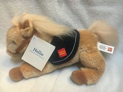 """NWT Wells Fargo Bank Legendary Pony Nellie Collectible Plush Toy 14"""" Inches 2015"""