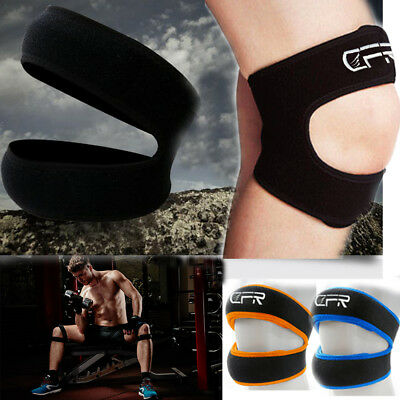Adjustable Patella Knee Brace Strap Gym Sports Protector Fastener Support Guard