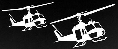 IROQUOIS UH-1B FORMATION- Vietnam Era - *High Quality* Adhesive Vinyl Decal