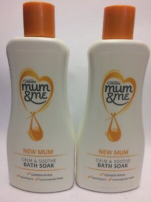 Cussons Mum & Me - New Mum - Bath Soak- 2 x 300ml