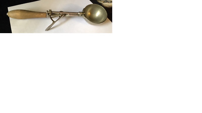 Vintage Ice Cream Scoop - Gilchrist 31 With Wooden Handle & Working Great!