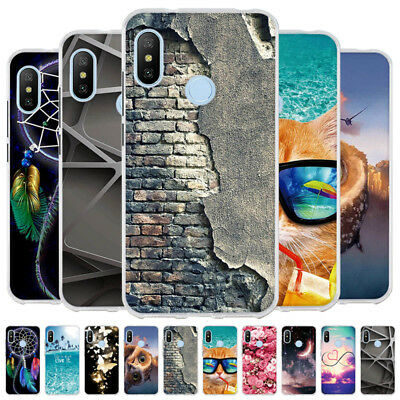 For Xiaomi Redmi Note 6 Pro/Redmi Note 5 Pro Silicone Soft TPU Case Back Cover