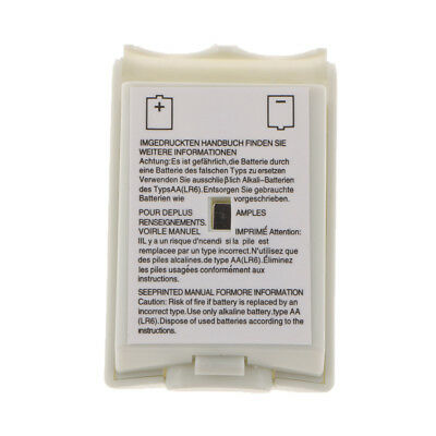 Battery Door for Microsoft Xbox 360 Slim Remote Control Back Cover White