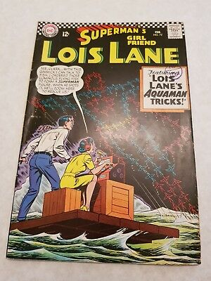 Superman's Girlfriend Lois Lane (1958-1974) #72  - Bagged and Boarded