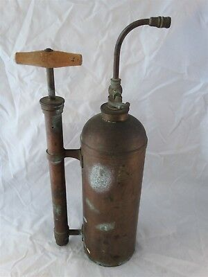 Large Vintage French Copper Muratori Pulverisateur Garden Sprayer 17""