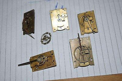 antique clock escapement platform parts 4