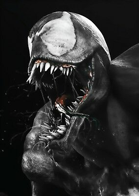 Venom Movie Wall Art Large Poster Print A0 A1 A2 A3 A4 Maxi