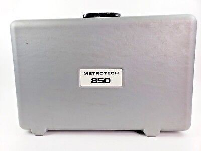 Metrotech Model 850 Locator set Locator Wand and Transmitter. Near Mint Cond.